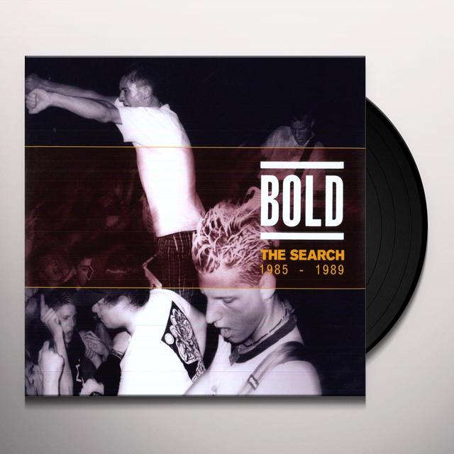Bold SEARCH: 1985-89 Vinyl Record - UK Import