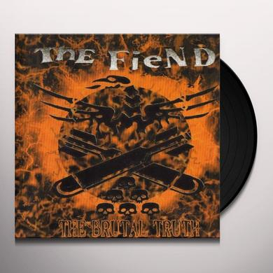 Fiend BRUTAL TRUTH Vinyl Record - UK Import