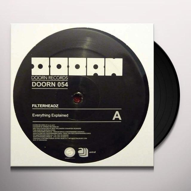 Filterheadz EVERYTHING EXPLAINED Vinyl Record - Sweden Release