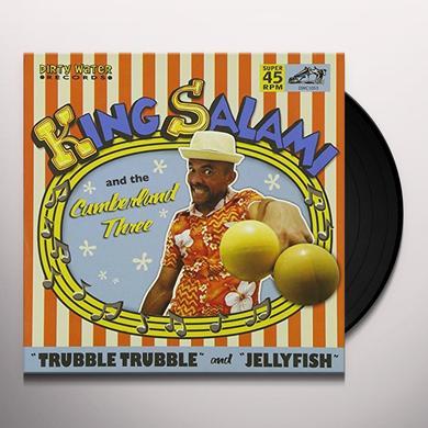 Hipbone Slim & Kneetremblers TRUBBLE TRUBBLE/JELLYFISH Vinyl Record