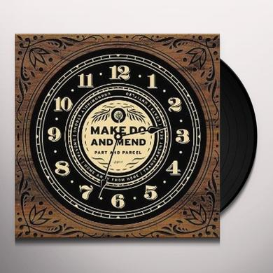 Make Do And Mend PART & PARCEL Vinyl Record - UK Import