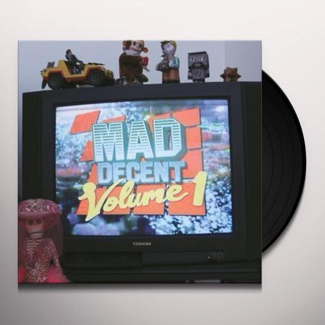 VOL. 1-MAD DECENT Vinyl Record - Sweden Release