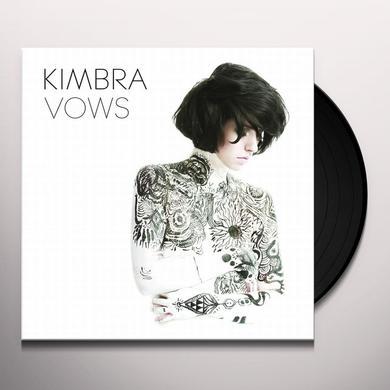 Kimbra VOWS Vinyl Record - Australia Release