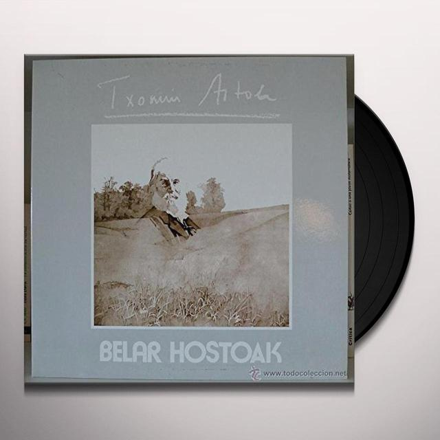 Txomin Artola BELAR HOSTOAK Vinyl Record