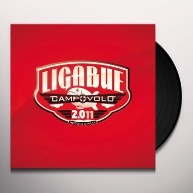 Ligabue CAMPOVOLO 2.011 Vinyl Record - Italy Import