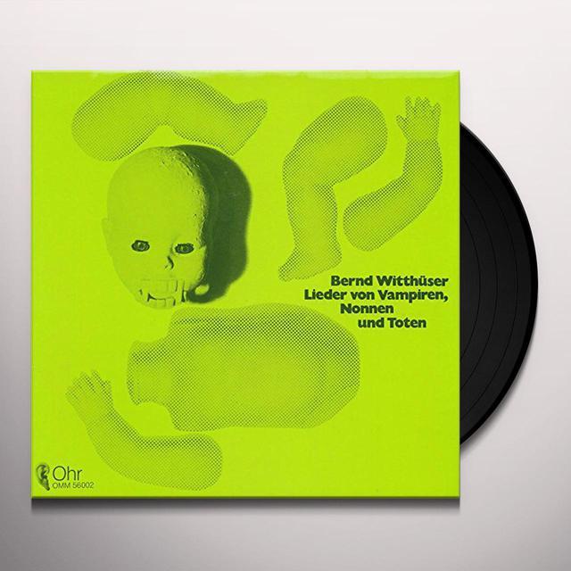 Bernd Witthusser LIEDER VON VAMPIREN Vinyl Record