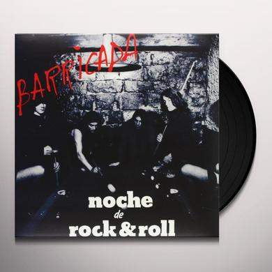 Barricada NOCHE DE ROCK & ROLL-HQ Vinyl Record - Holland Release