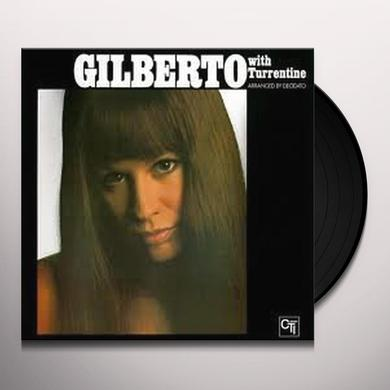 Astrud Gilberto WITH TURRENTINE Vinyl Record - Holland Import