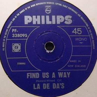 La De Das FIND US A WAY Vinyl Record
