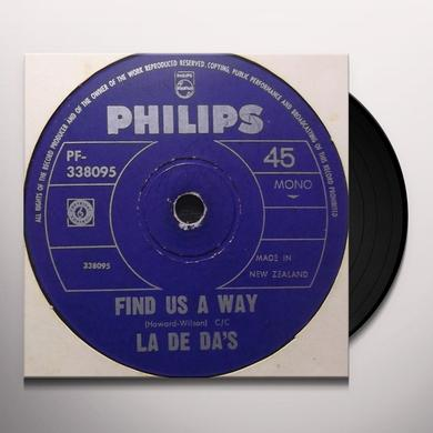 La De Das FIND US A WAY Vinyl Record - Holland Import