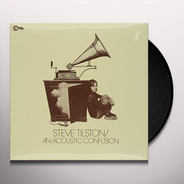 Steve Tilston AN ACOUSTIC CONFUSION Vinyl Record - Holland Import