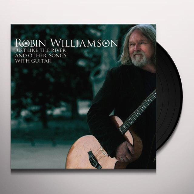 Robin Williamson JUST LIKE THE RIVER &.. Vinyl Record - Holland Import