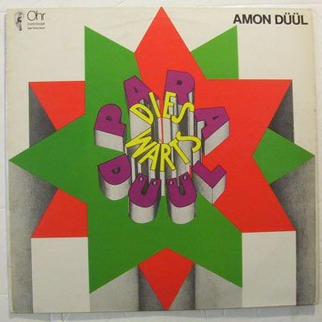 Amon Duul PARADIESWARTZ DUUL Vinyl Record - Holland Import