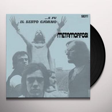 Metamorfosi E FU IL SESTO GIORNO Vinyl Record - Holland Import
