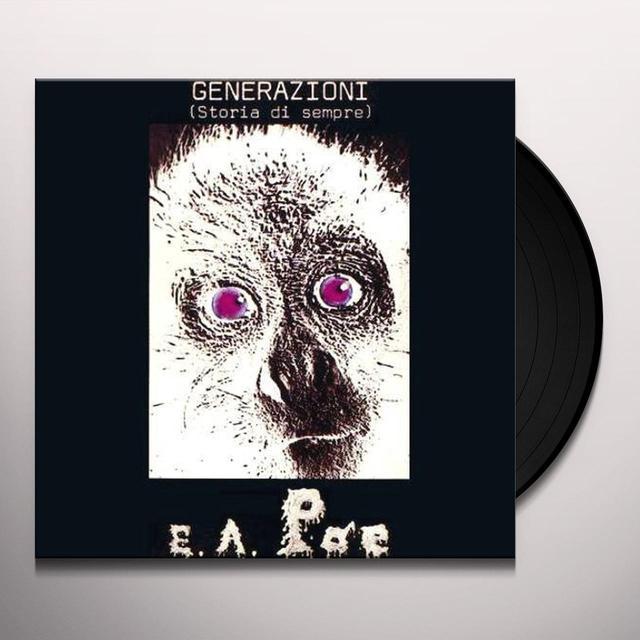 Edgar Allen Poe GENERAZIONE Vinyl Record - Holland Import