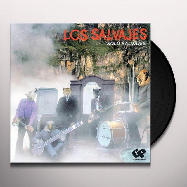 Los Salvajes SOLO SALVAJES Vinyl Record