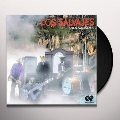 Los Salvajes SOLO SALVAJES Vinyl Record - Holland Import