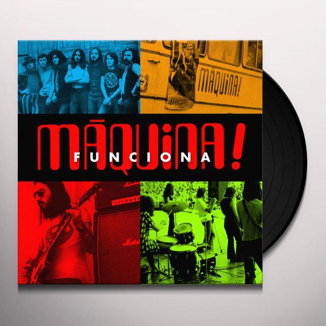 Maquina FUNCIONA! Vinyl Record