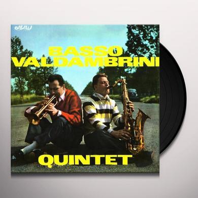 Basso-Valdambrini QUINTET Vinyl Record - Italy Import
