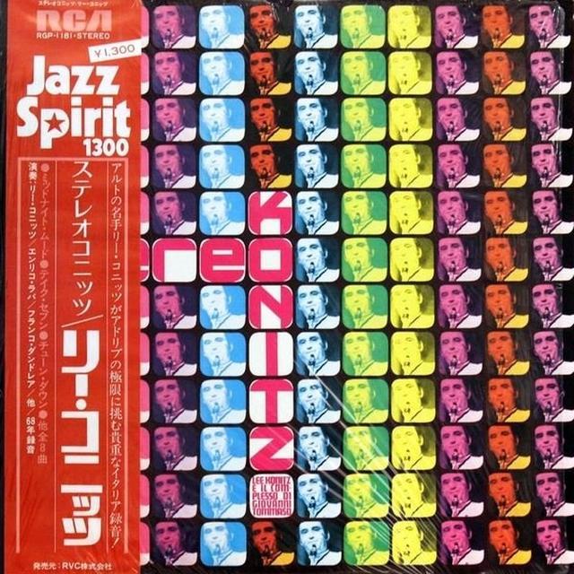 Lee Konitz STEREOKONITZ Vinyl Record - Italy Import