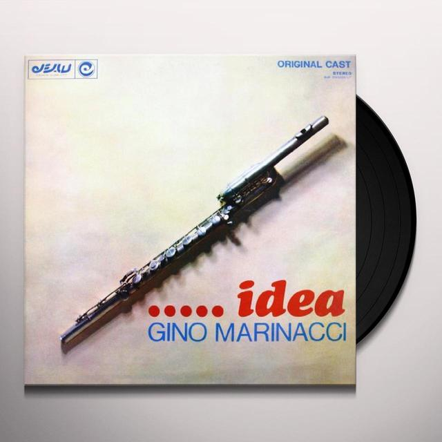 Gino Marinacci IDEA Vinyl Record - Italy Import