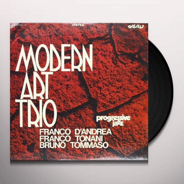 Modern Art Trio PROGRESSIVE JAZZ Vinyl Record - Italy Import