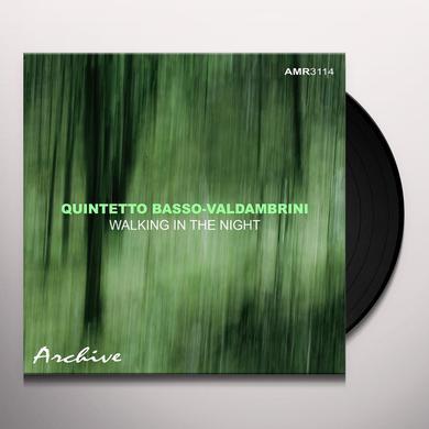 Quintetto Basso Valdambrini WALKING IN THE NIGHT Vinyl Record
