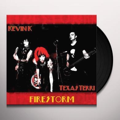 Kevin K.& Texas Terr FIRESTORM Vinyl Record - Portugal Import