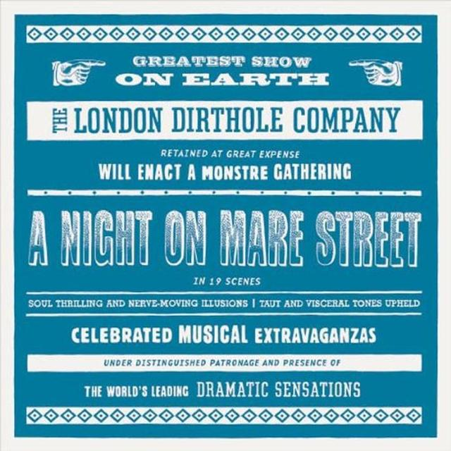 London Dirthole Comp A NIGHT ON MARE STREET Vinyl Record