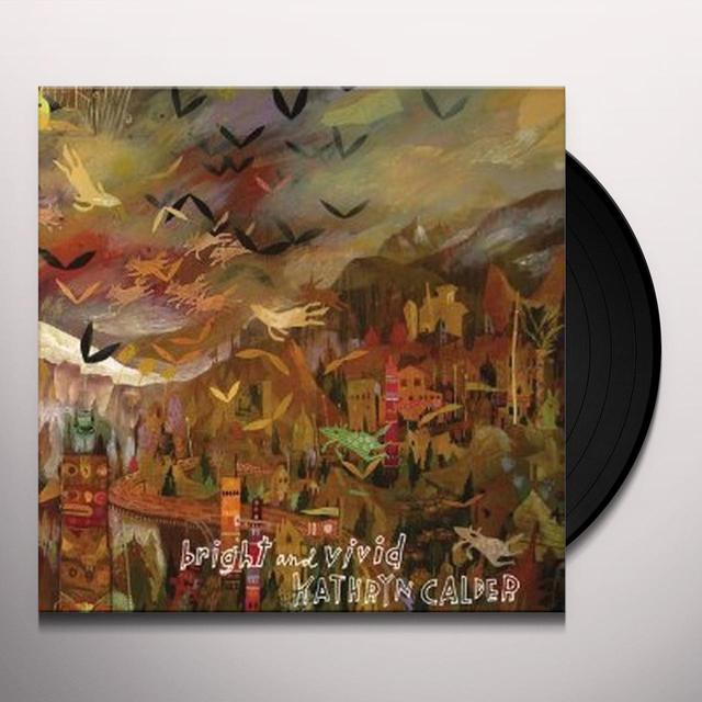 Kathryn Calder BRIGHT & VIVID Vinyl Record - Canada Release