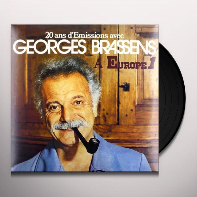 20 ANS D'EMISSIONS DE GEORGES BRASSENS (FRA) Vinyl Record