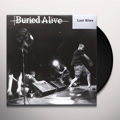 Buried Alive LAST RITES (LP) (OZ EXCLUSIVE) Vinyl Record