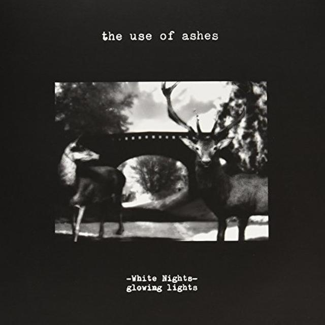 Use Of Ashes WHITE NIGHTS: GLOWING Vinyl Record - Holland Import