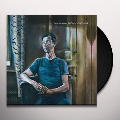Sand Snowman WORLD'S NOT WORTH IT Vinyl Record