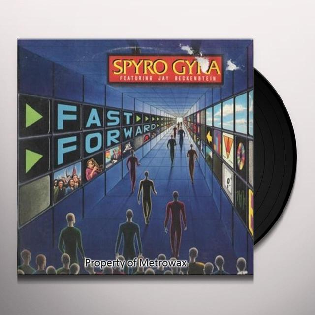 Gyra Spyro FAST FORWARD Vinyl Record - Sweden Import