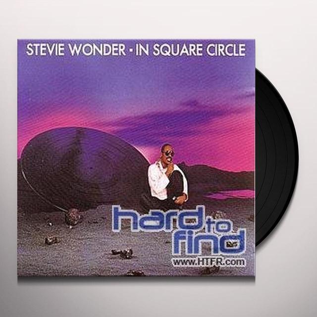 Stevie Wonder IN SQUARE CIRCLE Vinyl Record - Sweden Import