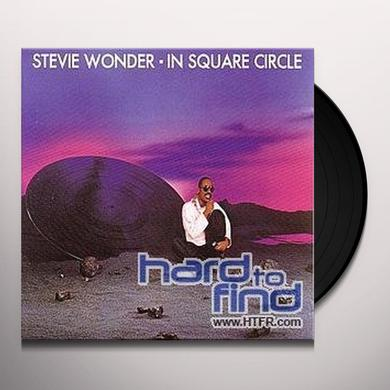Stevie Wonder IN SQUARE CIRCLE Vinyl Record - Sweden Release