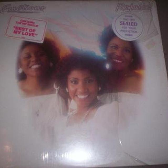 Emotions REJOICE Vinyl Record - Sweden Import