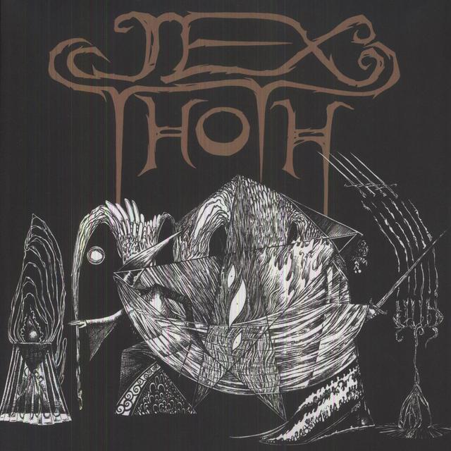 Thoth Jex WITNESS Vinyl Record - Sweden Import