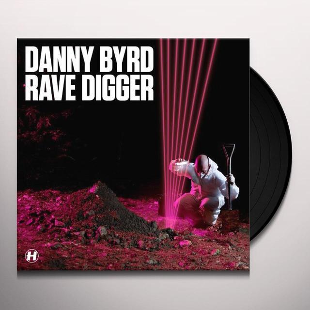 Danny Byrd RAVE DIGGER Vinyl Record - Sweden Release