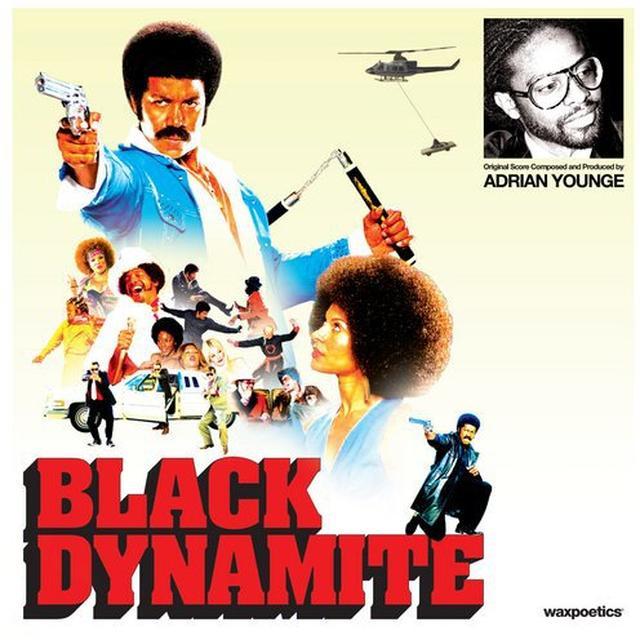 Various Artists BLACK DYNAMITE Vinyl Record - Sweden Release