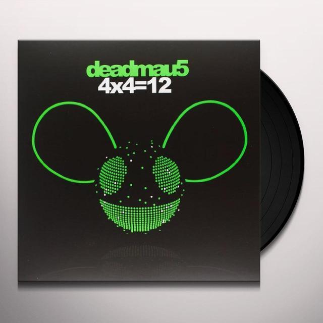 Deadmau5 4X4=12 Vinyl Record - Sweden Import