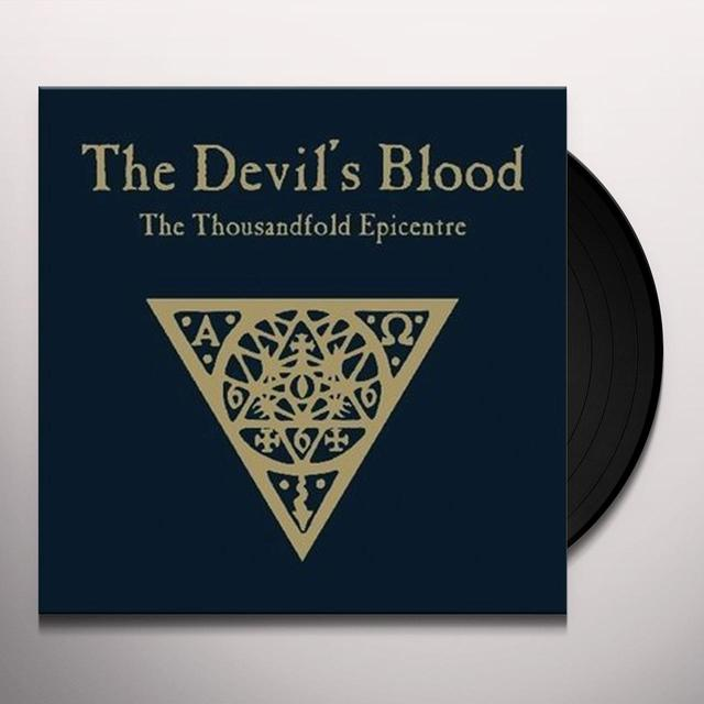 Devil'S Blood THOUSANDFOLD EPICENTRE Vinyl Record - Portugal Import