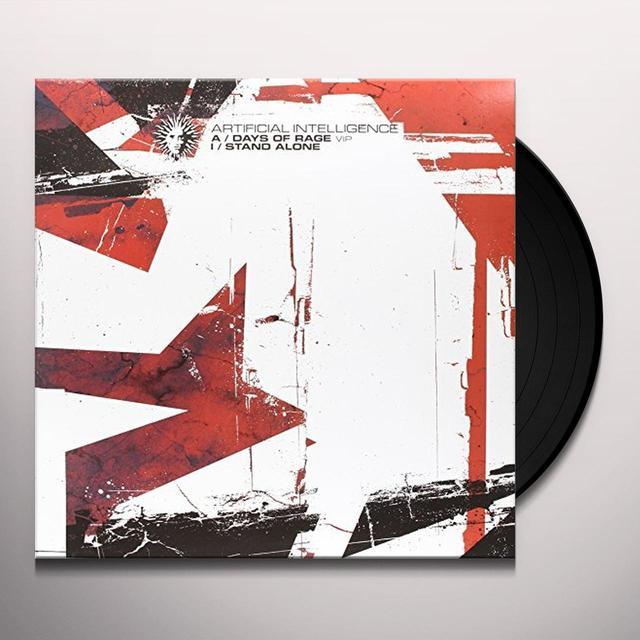 Artificial Intelligence DAYS OF RAGE VIP/STAND ALONE Vinyl Record - Australia Import