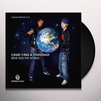 Crissy Criss TURN IT UP/GIVE Vinyl Record