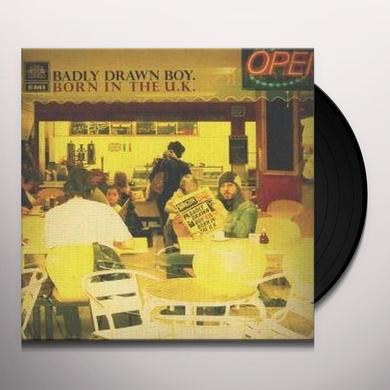 Badly Drawn Boy BORN IN THE UK Vinyl Record - Sweden Release