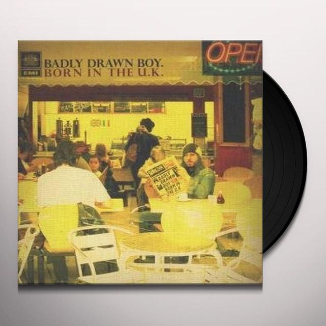 Badly Drawn Boy BORN IN THE UK Vinyl Record - Sweden Import