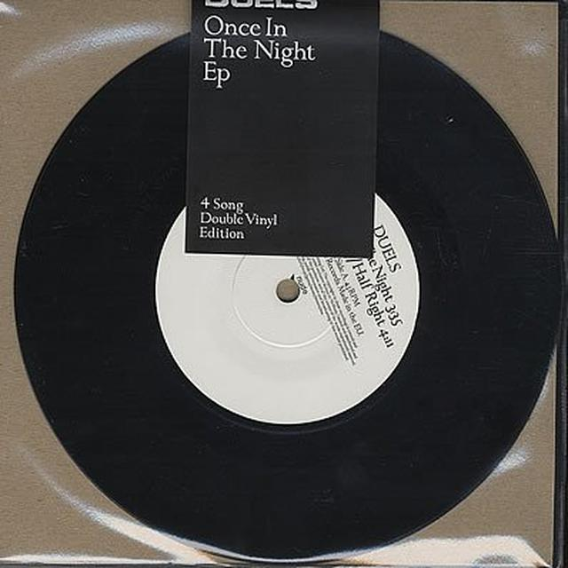 Duels ONCE IN THE NIGHT Vinyl Record - Holland Import