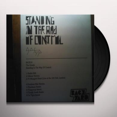 Gossip STANDING IN THE WAY OF CONTROL Vinyl Record - UK Import
