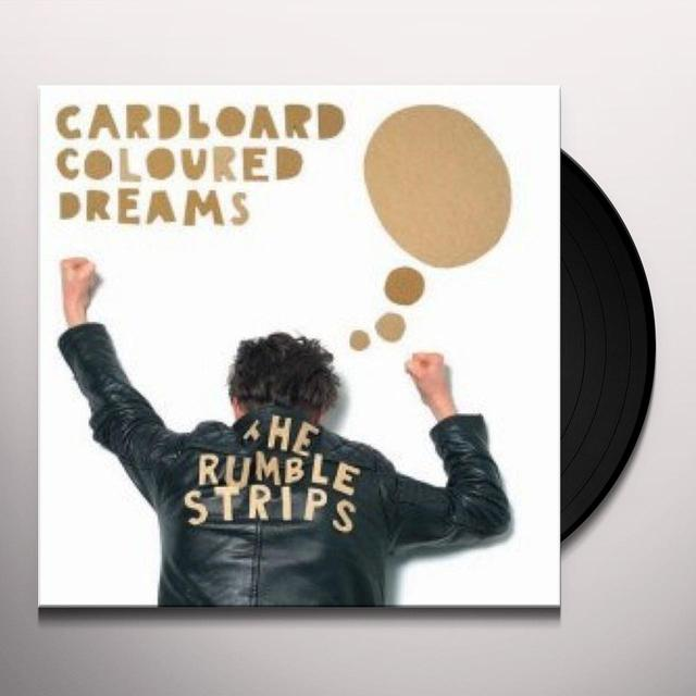 Rumble Strips CARDBOARD COLOURED DREAMS EP Vinyl Record - UK Release